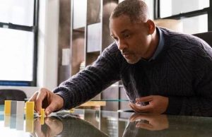 Will Smith in Collateral Beauty (Barry Wetcher/Warner Bros.)