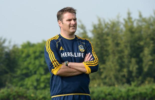 Curt Onalfo is the new L.A. Galaxy head coach. (Robert Mora/L.A. Galaxy)
