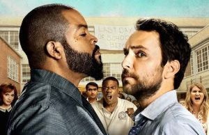 Christina Hendrix, Ice Cube, Kumail Nanjiani, Tracy Morgan, Charlie Day and Jillian Bell star in Fist Fight.