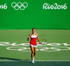 Miami-based Monica Puig won Olympic gold for her native country of Puerto Rico. (Facebook)