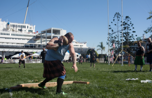 Witness feats of strength and more when the ScotsFestival & International Highland Games take place at the Queen Mary.