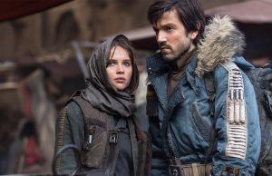Felicity Jones and Diego Luna in Rogue One: A Star Wars Story (Lucasfilm Ltd)