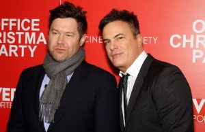 Directors Josh Gordon and Will Speck at a screening of Office Christmas Party (Marion Curtis/Star Pix)