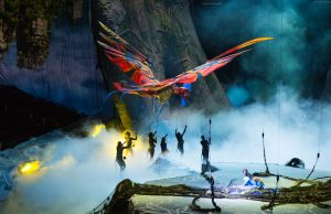 Cirque du Soleil's Toruk – The First Flight returns to Los Angeles Jan. 12 to 15. (Errisson Lawrence)