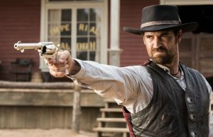 Manuel Garcia-Rulfo as Vasquez in The Magnificent Seven. (Courtesy of Sony Pictures)
