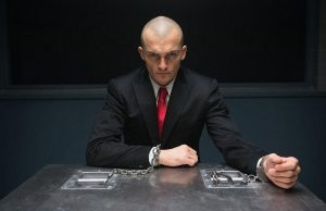 Rupert Friend in 20th Century Fox's Hitman: Agent 47. (20th Century Fox)