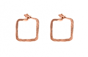 Applepear's Dawn Earrings in rose gold