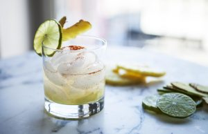 Heat up your winter with Chef Franco Noriega's Spicy Tropic Cocktail.