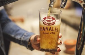 We were able to taste the new Hanalei IPA at Kona Brewing's Teenie Tiny Friday event. (Jennifer Thunberg)