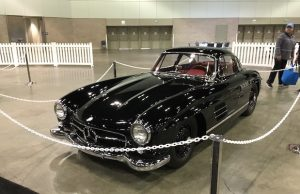This Gullwing Mercedes was a highlight of the Classic Auto Show. (David Tobin/LOL-LA)