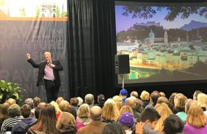 Come face to face with travel hosts like Rick Steves at Los Angeles Travel and Adventure Show.