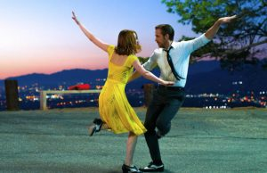 Mia (Emma Stone) and Sebastian (Ryan Reynolds) in the best film of the year, La La Land. (Dale Robinette)