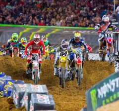Catch all of the action in the whoops when Monster Energy Supercross debuts the 2017 season in Anaheim.