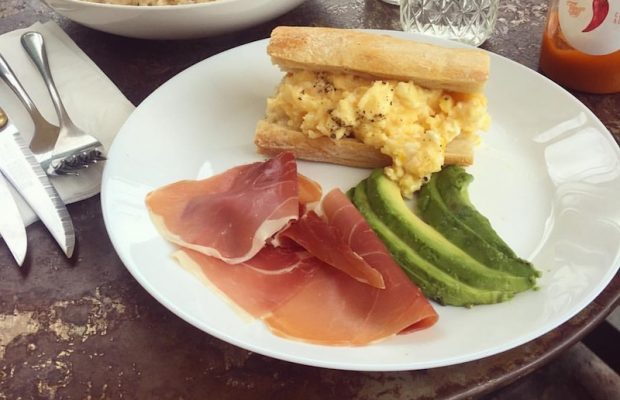 Egg sandwich from Croft Alley (Courtesy Photo)