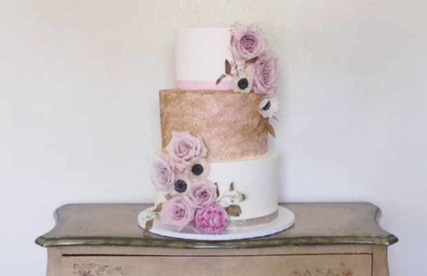 A gorgeous cake creation from Blue Cake House