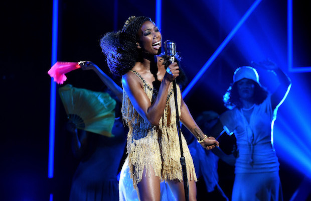 Win tickets to see Brandy at the Novo.  (Nicholas Hunt/BET/Getty Images for BET)