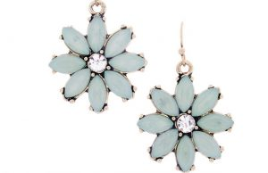 "The Pia ""Grateful"" Daisy Earrings from Cate & Chloe"