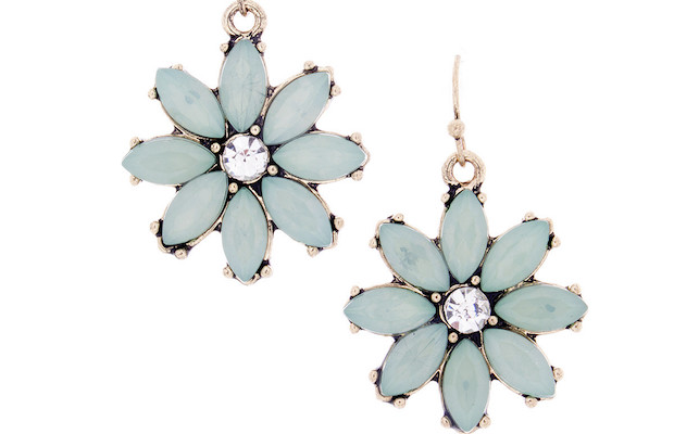"""The Pia """"Grateful"""" Daisy Earrings from Cate & Chloe"""
