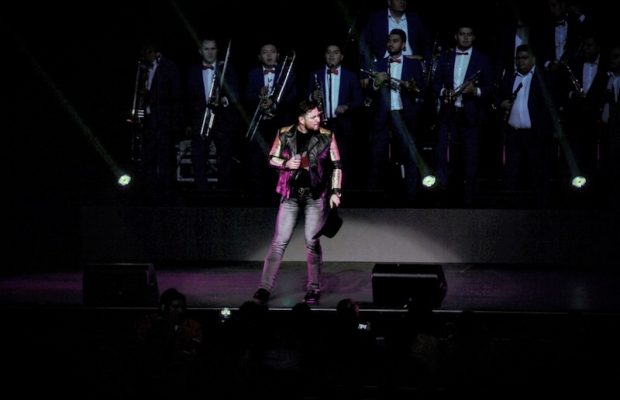 Roberto Tapia performing Friday, Feb. 17, 2017 at Microsoft Theater at L.A. Live. (Marvin Vasquez / LOL-LA)