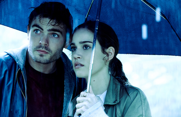 Matilda Lutz as Julia and Alex Roe as Holt in Rings