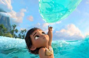 A toddler Moana in Walt Disney's Moana. (Courtesy Photo)