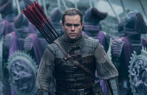 Matt Damon stars in Zhang Yimou's The Great Wall.