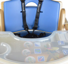 Abiie's Beyond Junior Y High Chair is safe, stylish and affordable.