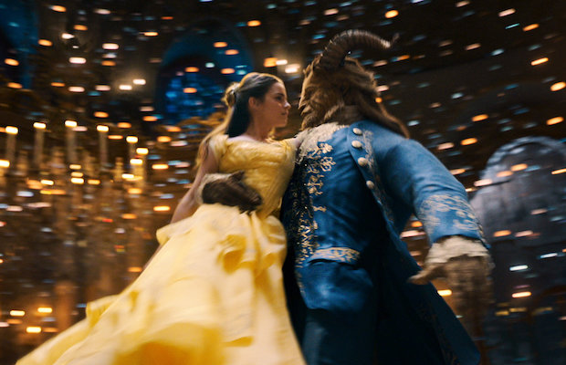 Emma Watson and Dan Stevens in Beauty and the Beast (Disney)