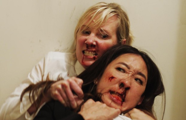 Anne Heche and Sandra Oh star in Catfight.