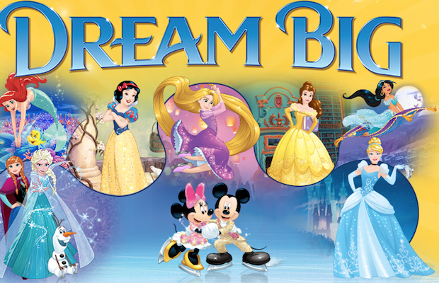 Win tickets to Disney On Ice Dream Big.