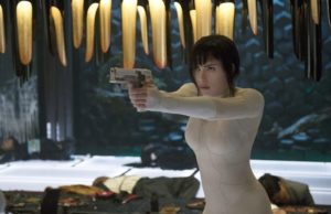 Scarlett Johansson  stars as Major in Ghost in the Shell. (Jasin Boland/Paramount Pictures and DreamWorks Pictures)