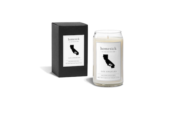 Homesick Candles' limited-edition Los Angeles Homesick Candle