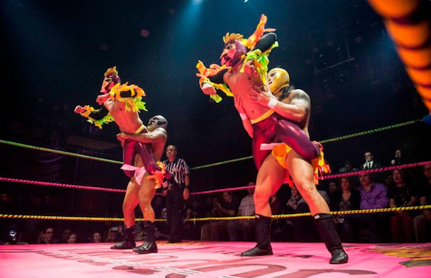 Win tickets to Lucha VaVoom Cinco de Mayo at the Mayan Theater. (Timothy Norris)