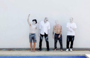 Anthony Kiedis, Chad Smith, Flea and Josh Klinghoffer of the Red Hot Chili Peppers