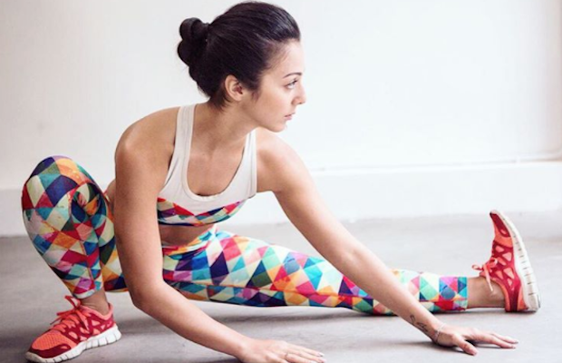 Look good while staying in shape in RUMI X clothing.