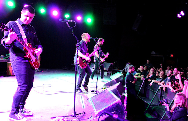 The Menzingers lit up the Glass House Monday night. (Evan Solano/LOL-LA)