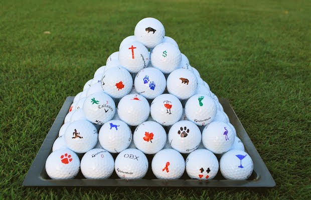 Tin Cup allows you to leave your mark on your golf balls.