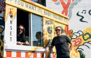 Brothers Rick and Michael Ross, co-owners of Delicious Pizza (Courtesy Photo)