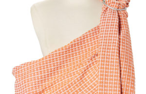 The Mandarin Honeycomb Ring Sling from Hip Baby Wrap