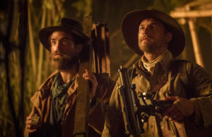 Robert Pattinson and Charlie Hunnam in The Lost City of Z (Aidan Monaghan/Amazon Studios & Bleecker Street)