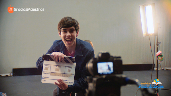 San Jose high schooler Michael Padilla aspires to work in the film industry. (Courtesy of IM Studio)
