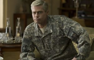 Brad Pitt stars as General Glen McMahon in War Machine.