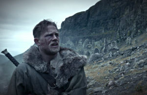 Charlie Hunnam as Arthur in King Arthur: Legend of the Sword