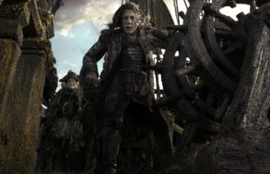 Javier Bardem as Captain Armando Salazar in Pirates of the Caribbean: Dead Men Tell No Tales. (Walt Disney Studios)