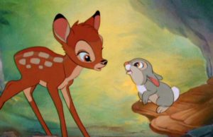 Win a DVD of Bambi Anniversary Edition .