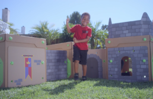 BigBoxPlay is a 'life-sized' modular and durable play system designed around children's love for cardboard boxes and building forts. (Courtesy Photo)