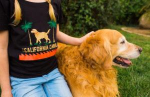 Show love for Cali and your pup with a California Canine Original Standard Tee.