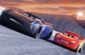 Owen Wilson reprises his voice role as Lightning McQueen in Cars 3.