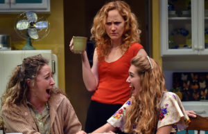 "I Jennifer Cannon, Robin Long and Megan Gainey in ""Crimes of the Heart"" (Steven Georges/ICT)"