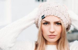 Harts & Pearls' Knit Slouch complements any outfit.